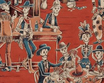 Alexander Henry - Deadwood Saloon - Item -  #8339C - Rust/Blue