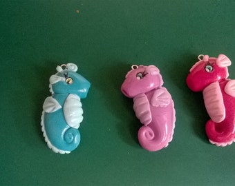 Seahorse Charm ( MADE TO ORDER)