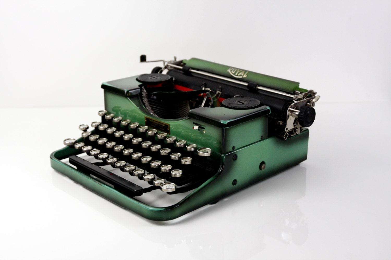royal typewriter manual instructions