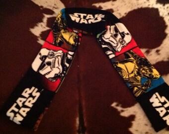 Star Wars retro print ultra cuddle scarf. Ready to ship!