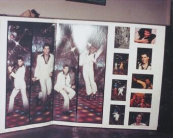 Strange 1970's John Travolta Saturday Night Fever Disco Album Cover Snapshot Photo - Free Shipping