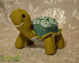 Amigurumi Crochet Turtle Soft Toy