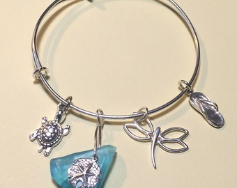 Sterling Silver Beach Bangle 302
