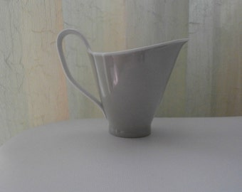 Vintage ROSENTHAL China Creamer Bettina, Light Olive,  Elegance & Style, #3256