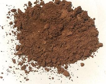 COCOA BROWN Titanium Free Mineral Foundation - Multi Tasking Loose Powder - Gluten Free Vegan Makeup Samples and Full Size