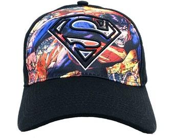 DC Comics Superman Baseball Cap #SM1868-B