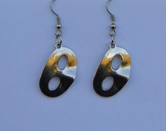 Silver Masks Earrings