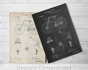 Bicycle Printables, Antique Bicycle, Hipster Wall Art, Living Room Decor, Cycling Art, Bicycle Print, PP0248