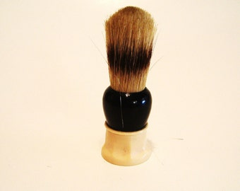Vintage Rubberset Shaving Brush Sterilized Made in Canada