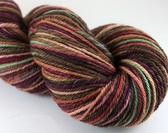 Handspun Yarn - Sport Weight Navajo Ply - Polwarth: Sweet Dreams