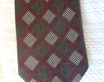 mens 100% silk necktie, Fratelli design, made in Italy, mens accessories, suits and accessories, prof. cleaned