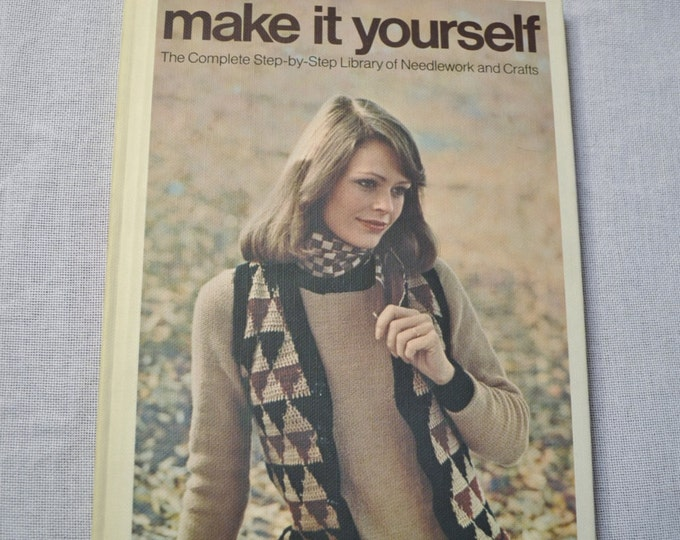 Make It Yourself Book Volume 3 Retro Needlework and Crafts DIY Instructions Patterns Designs  PanchosPorch