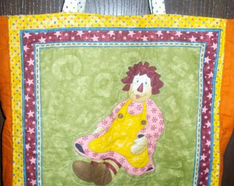 Raggedy Ann and Andy Tote Bag