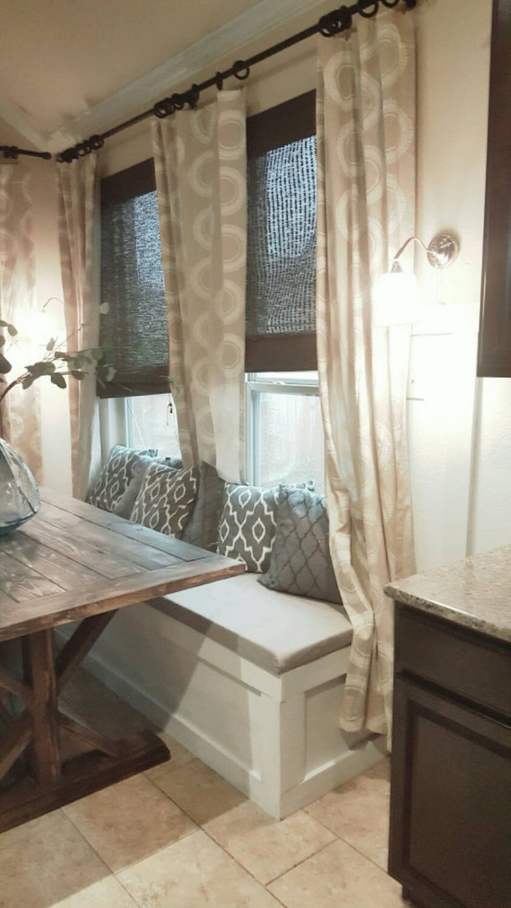 Kitchen Dining Room Banquette Bench Customizable