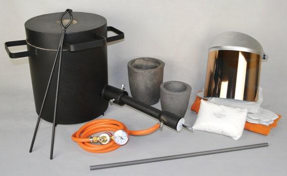 4 oder 10 kg gold silber kupfer melter kit w propan ofen und. Black Bedroom Furniture Sets. Home Design Ideas
