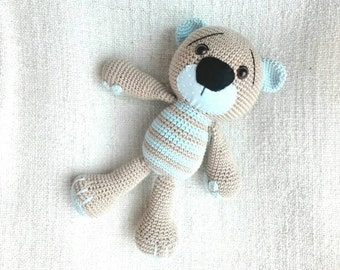 Amigurumi bear - Crochet toy - Lilleliis Tummy Teddy - crochet bear - stuffed animal - teddy bear - baby toy