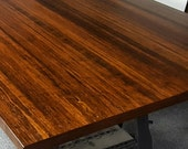 Solid Wood Table Tops. Bamboo Table Tops. Custom Sizes Available