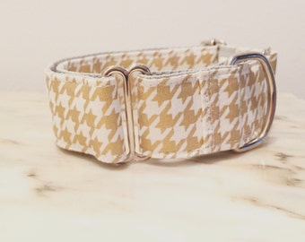"Adjustable Martingale dog collar ""Divine"""