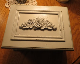 Country Chic Jewelry Trinket Box