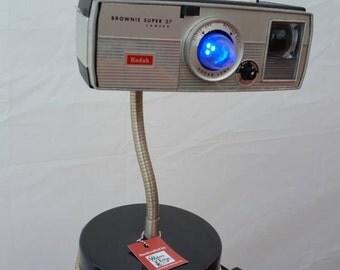 Kodak Brownie Super 27 Camera Desk Lamp