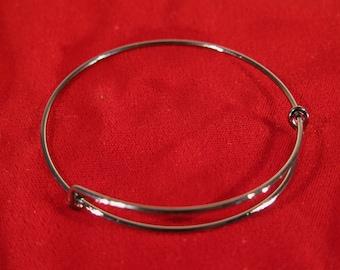 BULK! 15pc gunmetal color bangle bracelet (JC104B)