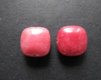 2-button pink 15x15x6mm Jade