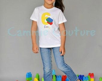 Lego Birthday Shirt