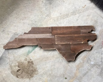 Wood Silhouette of any State - Up to 3 Feet Wide