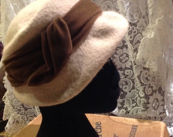Womens felt wool hat