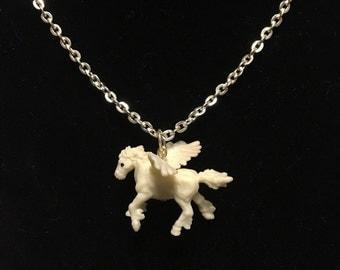 Mythological Pets - Pegasus Necklace
