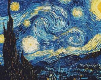 The Starry Night PDF Cross Stitch Pattern