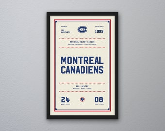 "Montreal Canadiens ""Day & Night"" Print"