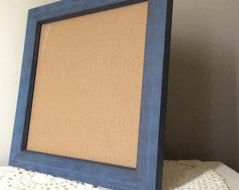blue rustic barnwood frame blue rustic frame 12x16 blue frame 10x10 blue frame 8x8 blue frame 11x14 rustic frame 8x10 frame
