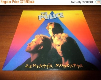 Save 70% Today Vintage 1980 Vinyl LP Record Zenyatta Mondatta The Police Excellent Condition 872