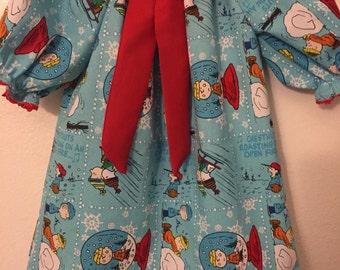 A Charlie Brown christmas dress