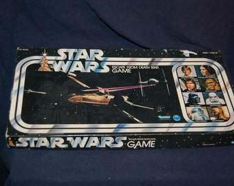 Escape From The Death Star - Parker Brothers Star Wars Board Game - 1977