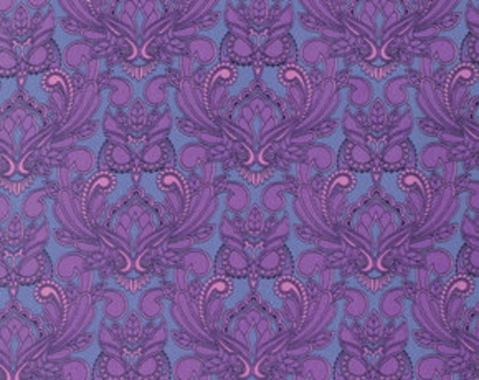 True Colors Tula Pink Owl Orchid - 1/2yd