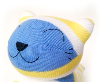 Cecil the Sock Cat Cuddly Toy