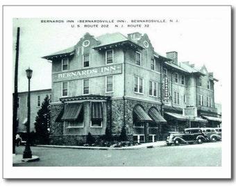 Bernards Inn, Bernardsville NJ Vintage REPRO Postcard