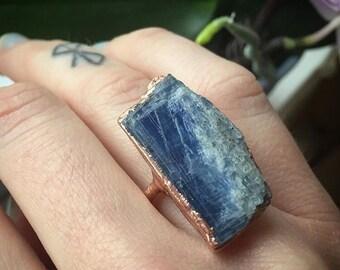 Kyanite Ring --size 5 1/4