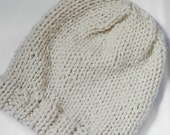 Lined Knit Beanie in Sparkle
