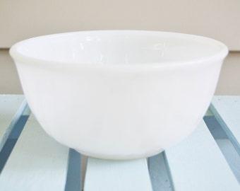 FIRE KING BOWL Mixing Bowl Vintage Kitchen Glass Bowl