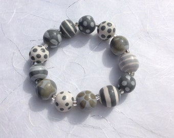 Items similar to One Of kind of bracelet kind of butterfly South American Painted lady or ...