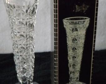 24 Lead Crystal Vase Etsy