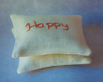 Valentines day giftLavender sachets set of 2, Pure linen sachets