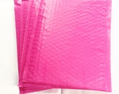20 8.5x11 Hot Pink Padded Bubble Mailers Size 2 - Self-Adhesive Bubble Mailers - Colored Bubble Mailers - Size #2 Bubble Mailers