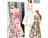 Vintage Dress Pattern wit...