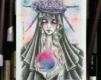 ACEO Commission Drawing (1 card)