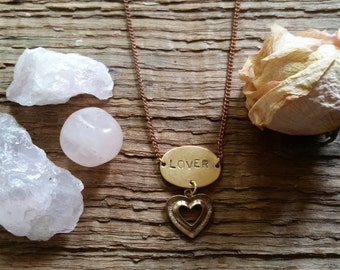 Lover Archetype Charm Necklace