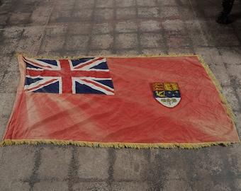 Canadian Red Ensign Original c.1930s vintage Flag